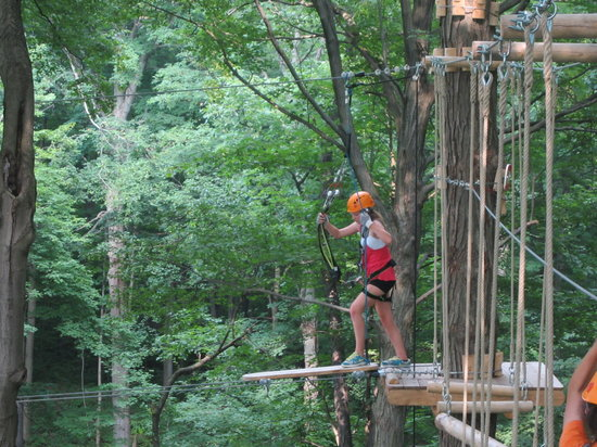 London, Kanada: Challenge Course Up in the Trees