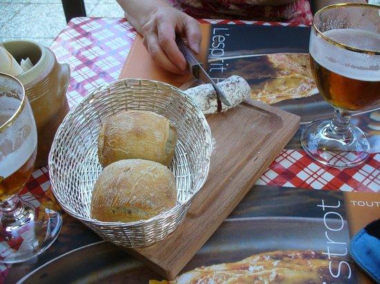 Ibis Niort Marais Poitevin: Tasty free starter at the L'esprit Bistrot