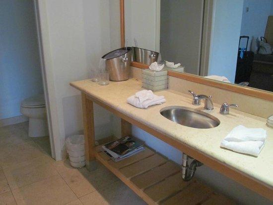 Hotel St. Augustine: Washroom/toilet
