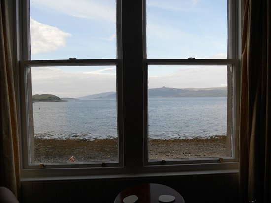 Sconser Lodge Hotel : Vista dalla double sea view