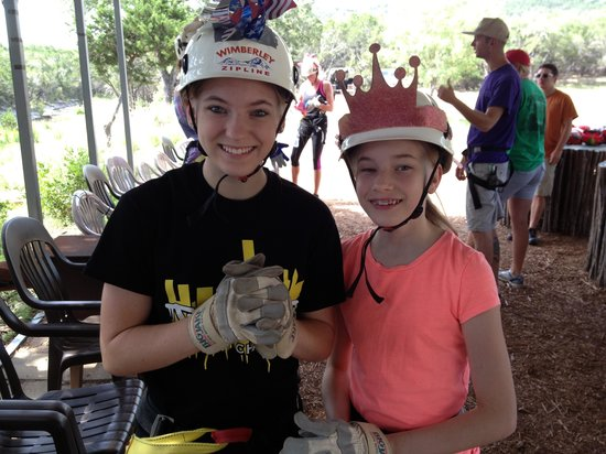 Wimberley Zipline Adventures: Ready to go!!!