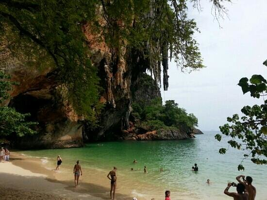 PhraNang Cave Beach: Pranang Beach, Railay Island