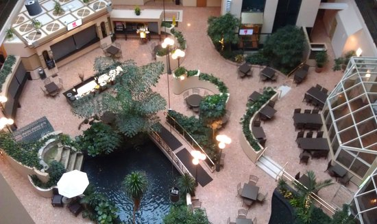 Embassy Suites by Hilton Indianapolis - North: Atrium from above