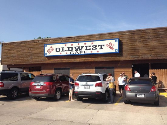 Old West Cafe: Best breakfast in Texas