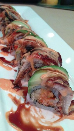Sake House: Black dragon roll