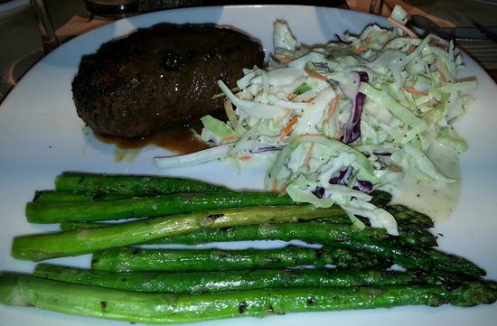 Ranch and Reata Road House : Steak and veggies - excellent.