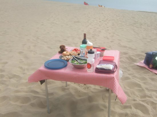 Central Coast Outdoors: lovely picnic lunch