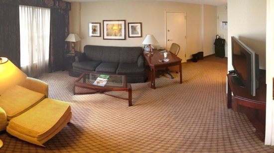 Sheraton Suites Galleria Atlanta: Suite area