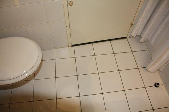 Hyatt Regency Paris Étoile: Dirty bathroom at check in.