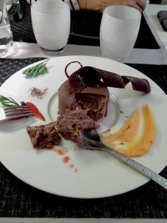 Le Bartok : Le Gateau au Chocolat avec mousse de patate douce