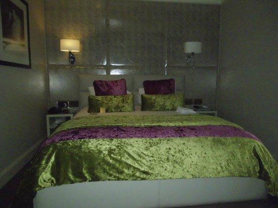 Radisson Blu Edwardian Mercer Street Hotel: Unser Zimmer