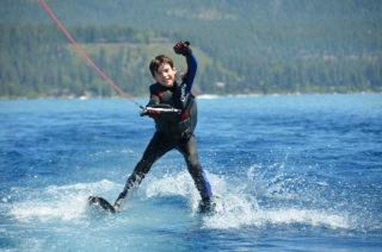 Birkholm's Water Ski Wakeboard School: It doesn't take long for the bragging to begin.