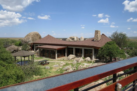 Seronera Wildlife Lodge: Lodge