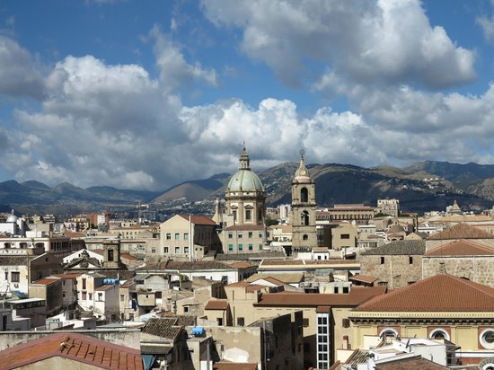 Ambasciatori Hotel : Vue de la terrasse