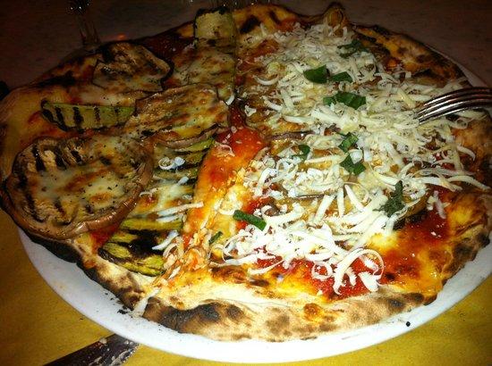 Ninnetti : Una pizza speciale: Due Gusti; che sfiziosità...