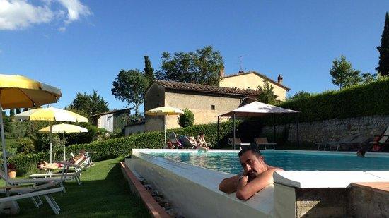 Hotel San Michele: san gimignano sullo sfondo