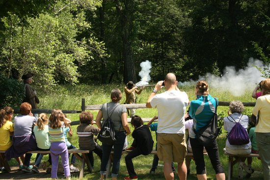 Concord Bike Tours: musket firing