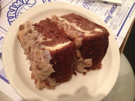 Shrimp Shack: German chocolate cheesecake cake. OMG!!! the best!