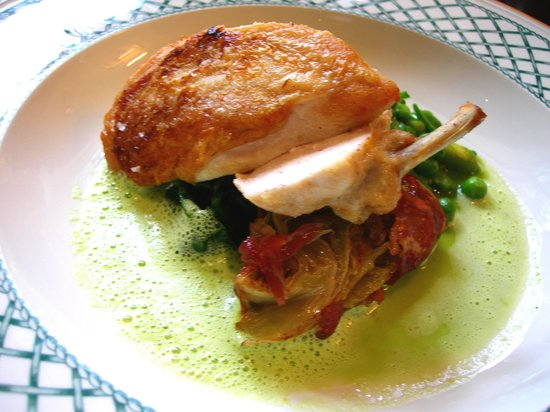 The Angel Inn: Goosnargh chicken breast
