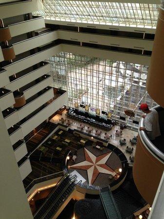 Hyatt Regency Dallas: view
