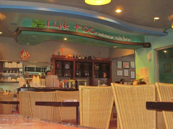 inside Luk Foo restaurant (Puregold Paranaque)