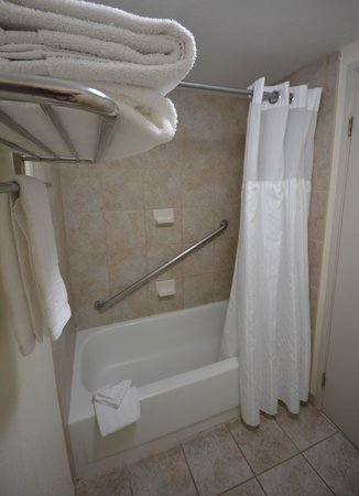Club-Hotel Nashville Inn & Suites: Bath Area (Stocked with Towels)