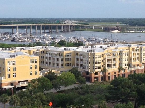 Charleston Marriott: View from the Concierges Room