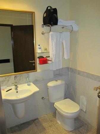 Hotel Regineh: Bathroom