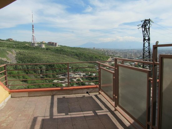 Hotel Regineh: View from balcony
