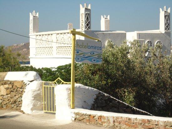 Omiros Hotel: Entrance