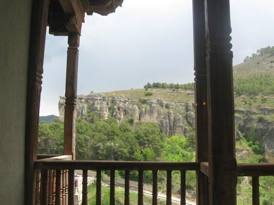 Meson Casas Colgadas : view from the upper floor of the restaurant