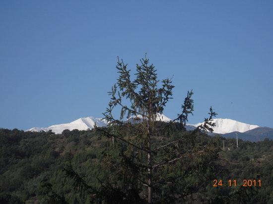 Le Ceretan Hotel : Vue des chambres coté Mt Canigou