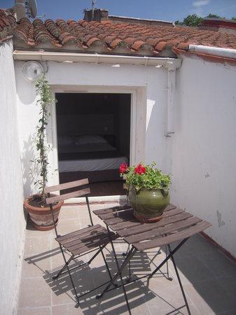 Le Ceretan Hotel : Chambre avec terrasse