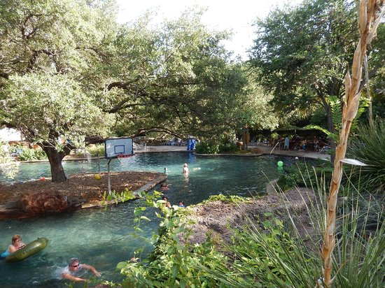 Lazy river picture of hyatt regency hill country resort for Top spa resorts in texas