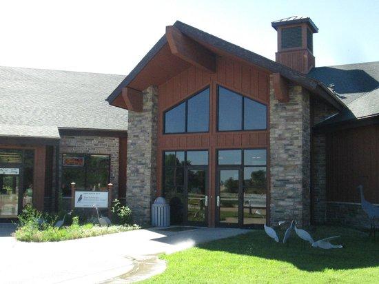 Crane Trust Nature & Visitor Center: Visitor's Center