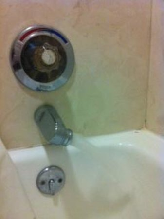 Days Inn & Suites Starkville: Tub Faucet