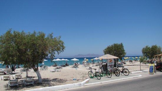 Tigaki Beach Hotel: Plaża