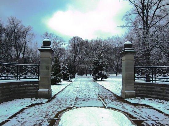 Tower Grove Park: entrance near magnolia and thurman