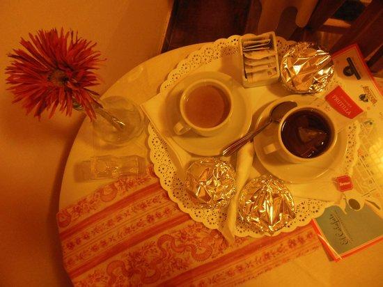 Marcopolo Inn: Nuestro desayuno