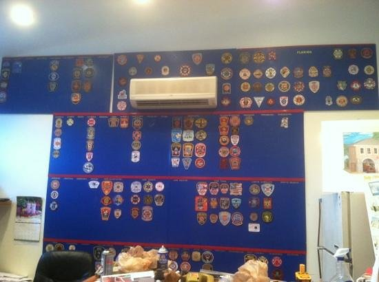 Key West Firehouse Museum : being a patch from your station