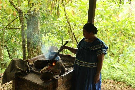 Oreba Chocolate Tour: Cooking cacao fruit