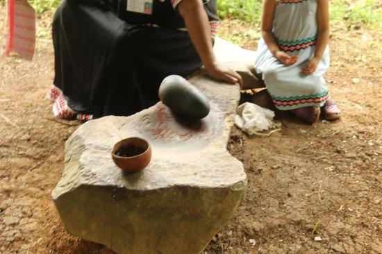 Oreba Chocolate Tour: Stone to grind Cacao