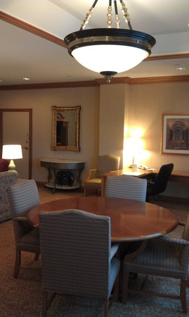 Hilton Indianapolis: Great space to meet with your team.