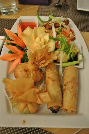 Giggling Squid Henley: Finger Food Platter