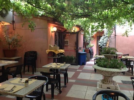 Giardino interno picture of pizzeria alla strega venice - Giardino interno ...
