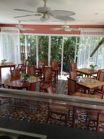 Royal Palms Hotel: Breakfast area