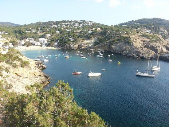 Hotel Village Ibiza: View to Cala Vadella