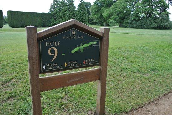 Badgemore Park Golf Club: Badgemore Golf