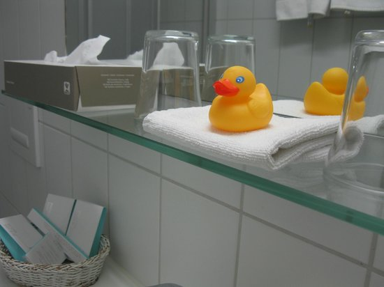 Sorell Hotel Arabelle : The ducky is the hotel's gift to you :)