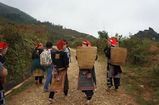 Chez XiQuan: en route vers le gîte